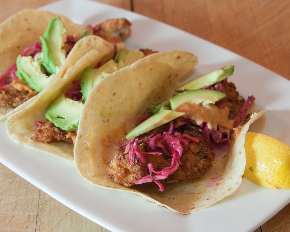 Fish stick tacos with slaw dr praeger 39 s sensible foods for Dr praeger s fish sticks