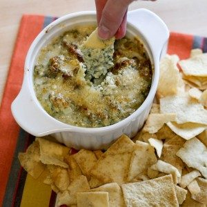 Chessy Spinach Dip