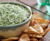 Roasted Kale Artichoke Dip