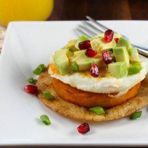 Sweet Potato Breakfast Tostadas