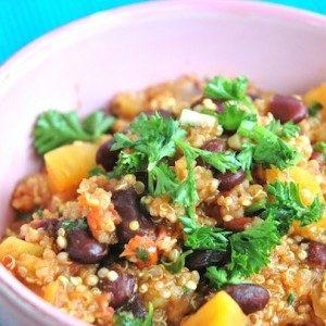 Sweet Potato Quinoa Chili