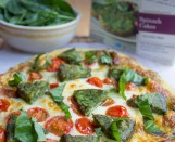 Margarita-Pizza-with-Spinach-Cakes