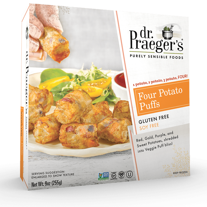 Dr. Praeger's Four Potato Puffs