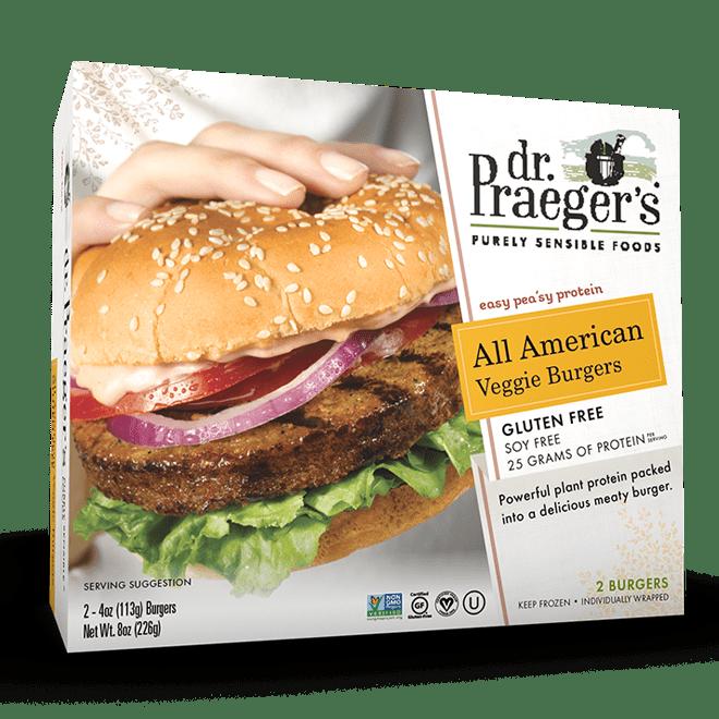 Dr. Praeger's All American Burger