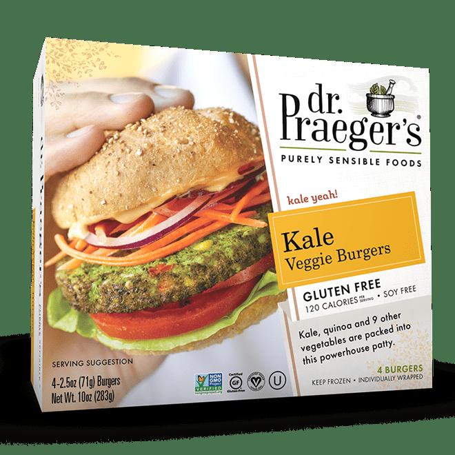 Kale Veggie Burgers Dr Praeger S Sensible Foods