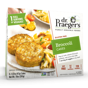 Dr. Praeger's Broccoli Cakes Package