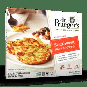 Dr. Praeger's Southwest Hash Browns Package