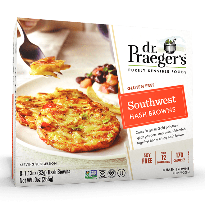Dr. Praeger's Southwest Hash Browns Package