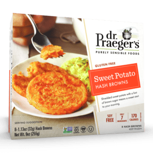 Dr. Praeger's Sweet Potato Hash Browns Package