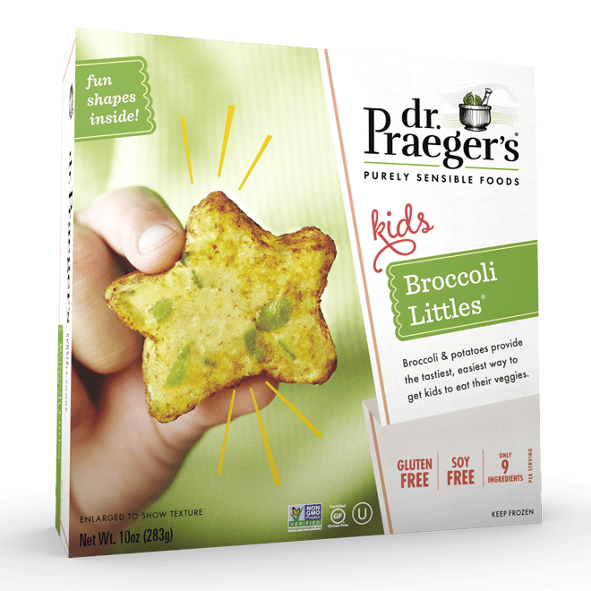 Dr. Praeger's Broccoli Littles Package