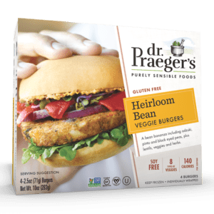 Dr. Praeger's Heirloom Bean Veggie Burgers Package