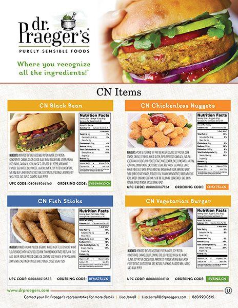 Dr Praeger's Food Service CN