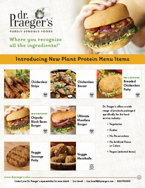 Dr Praeger's Food Service Plant Protein