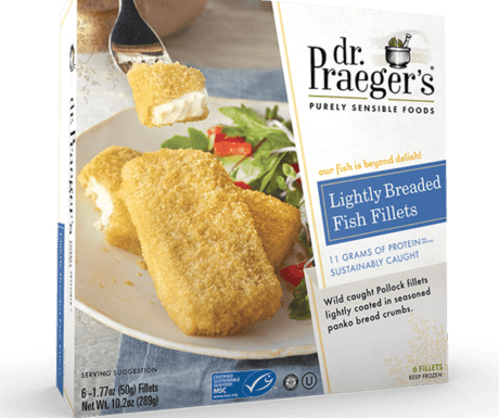 Product Image for Lightly Breaded Fish Fillets above a title and link