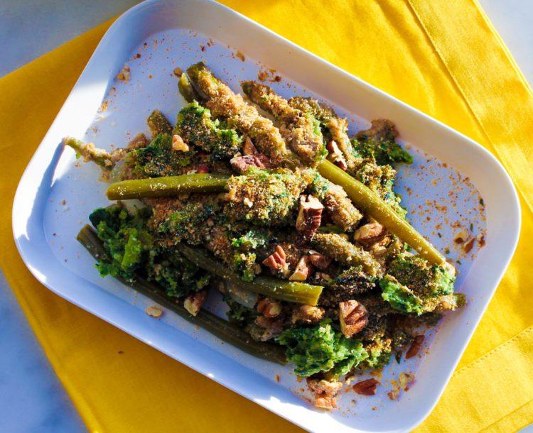 Vegan Green Beans Casserole