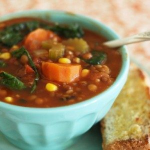Kale Vegetable Soup