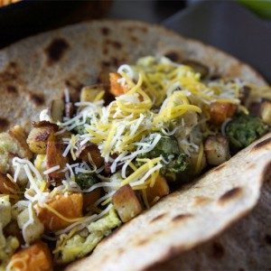 Veggie Lovers Breakfast Burrito