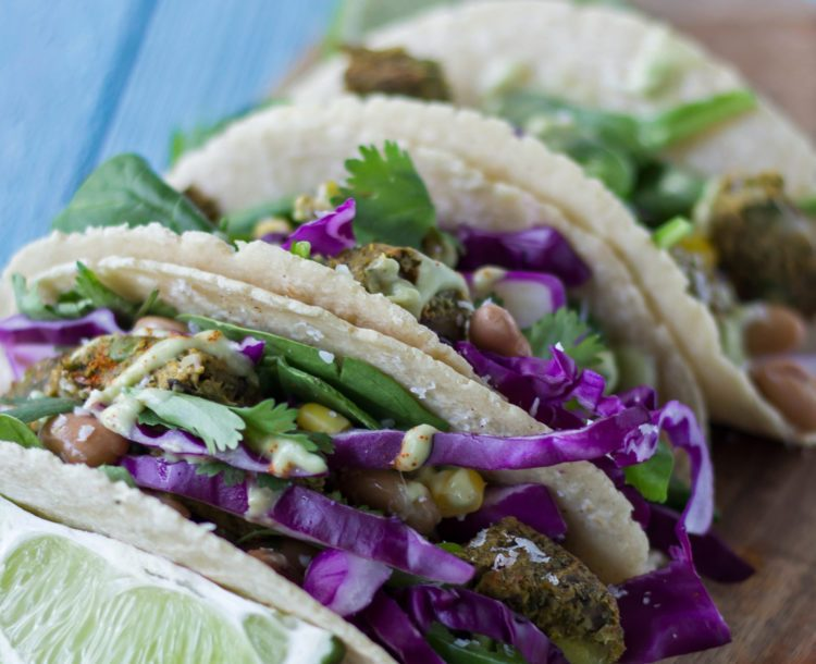 veggie burger tacos recipe from Dr. Praeger's