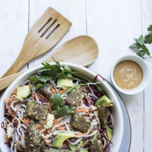 picnic salad recipe from Dr. Praeger's