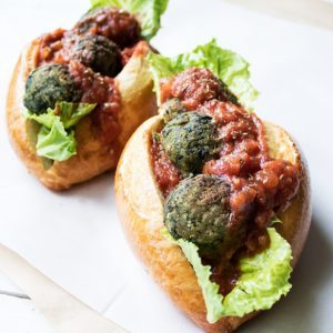 Super Greens Meatballs
