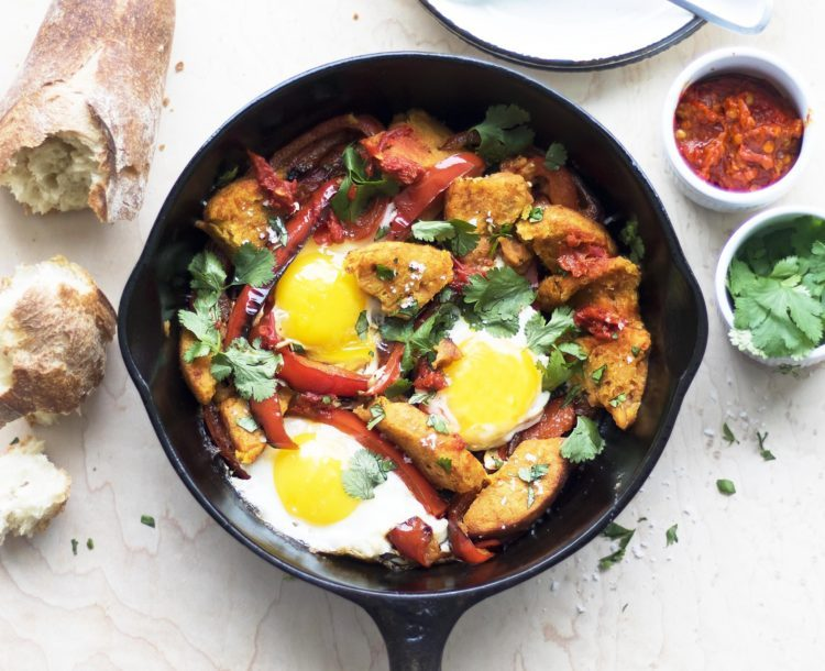 breakfast skillet recipe from Dr. Praeger's
