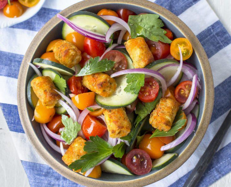 Dr. Praeger's Crispy Carrot Puff Salad