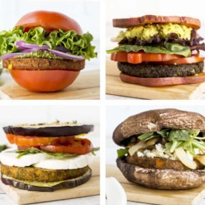 veggie burger bun alternatives from Dr. Praeger's