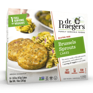 Dr. Praeger's Brussels Sprouts Cakes Package