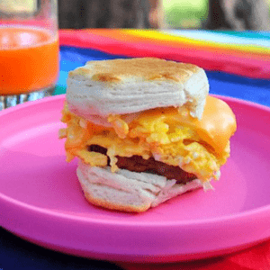 Dr. Praeger's Easy Breakfast Biscuits with Root Veggie Hash Browns