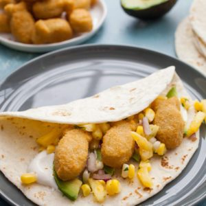 kid friendly fish tacos from Dr. Praeger's