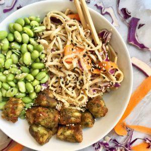 Dr. Praeger's Soba Noodles with Kale Puffs Bowl