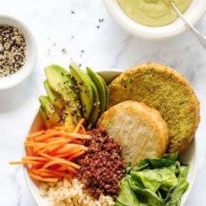 Vegetarian Buddha Bowl from Dr. Praeger's