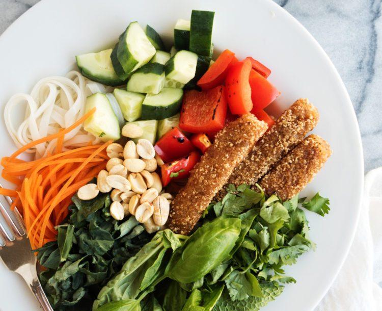 Hash brown breakfast skillet dr praeger 39 s sensible foods for Dr praeger s fish sticks