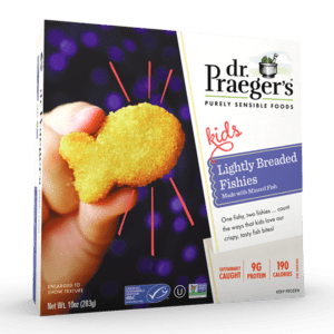 Dr. Praeger's Lightly Breaded Fishies Package