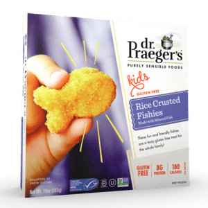 Dr. Praeger's Rice Crusted Fishies Package