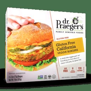 Dr. Praeger's Gluten Free California Veggie Burgers Package