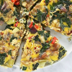 veggie tart recipe from Dr. Praeger's
