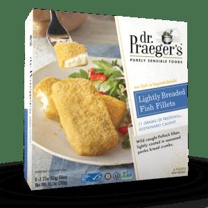 Dr Praeger's Lightly Breaded Fish Fillets
