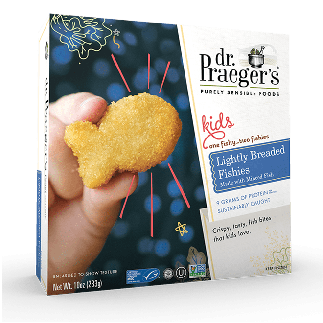 Dr Praegers Lightly Breaded Fishies