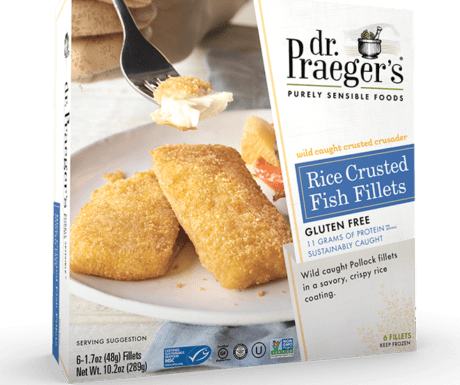Product Image for Rice Crusted Fish Fillets above a title and link