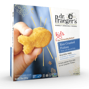 Dr Praeger's Rice Crusted Fishies