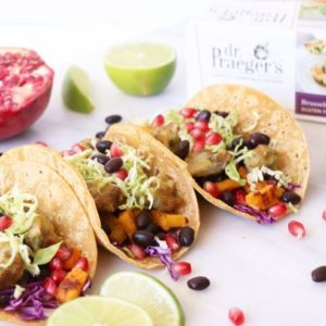 Dr. Praeger's Butternut Squash and Brussels Sprouts Tacos