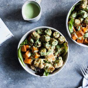 Dr. Praeger's Roasted Vegetable and Kale Puff Nourish Bowls