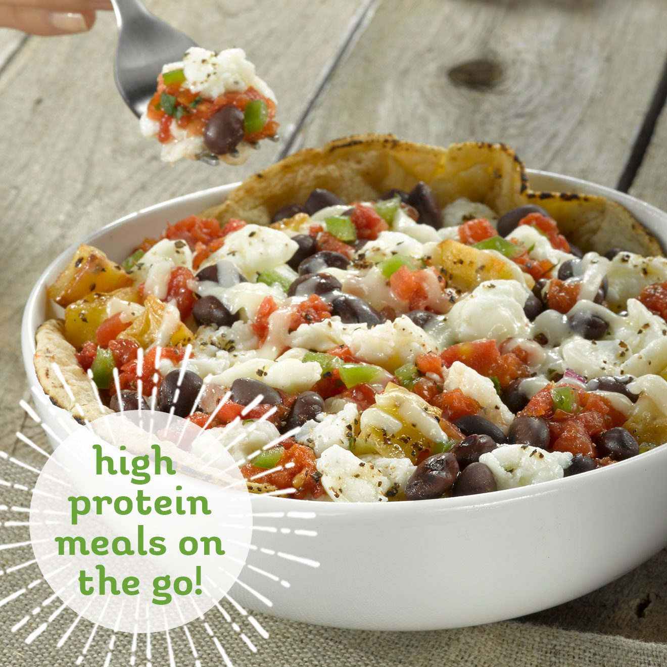 Dr. Praeger's bowls are organic and non-GMO