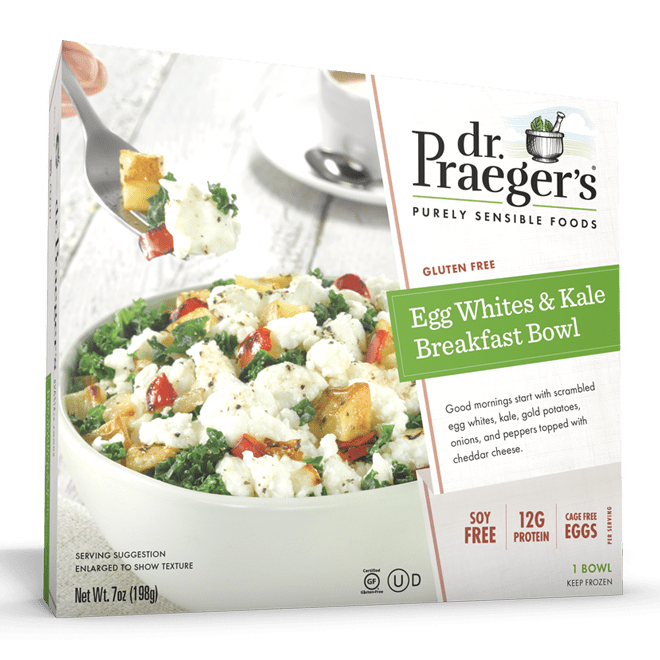 Dr. Praeger's Egg Whites & Kale Breakfast Bowl Package