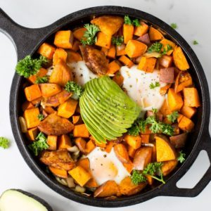 sweet potato skillet from Dr. Praeger's
