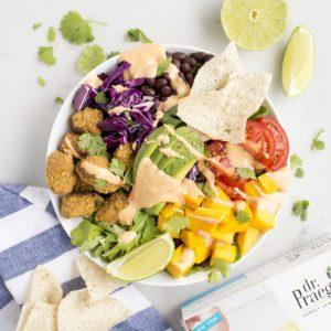 Fish Taco Bowl Recipe from Dr. Praeger's