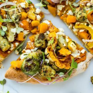 Dr. Praeger's Autumn Kale Puff Pizza