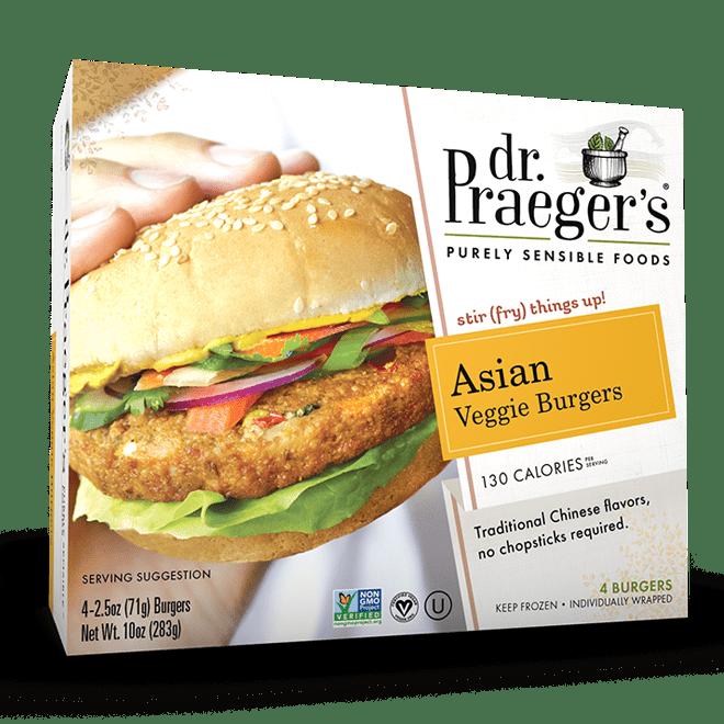Dr. Praeger's Asian Veggie Burgers