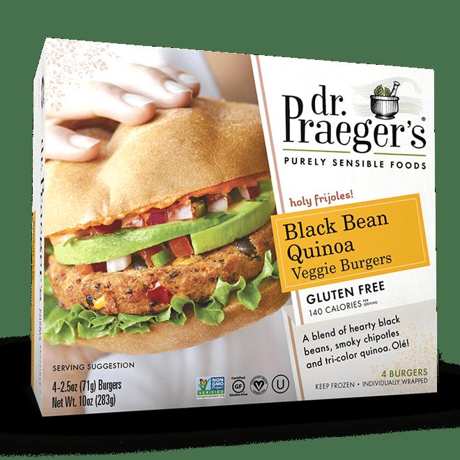Dr. Praeger's Black Bean Quinoa Veggie Burgers
